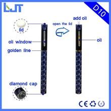 2015 USA No leaking cbd oil Vape E Cigarette cbd oil vape pen price disposable e-cig price