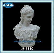 blanco hermoso <span class=keywords><strong>mármol</strong></span> <span class=keywords><strong>romano</strong></span> <span class=keywords><strong>estatua</strong></span> del busto femenino
