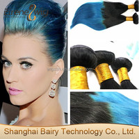 Malaysian Ombre Virgin hair extentions hot sell in USA ombre hair weft