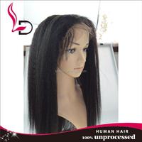 Top Quality Nice Curly Brazilian integration wigs with 100% remy human hair yaki human hair curly yaki wigs human hair