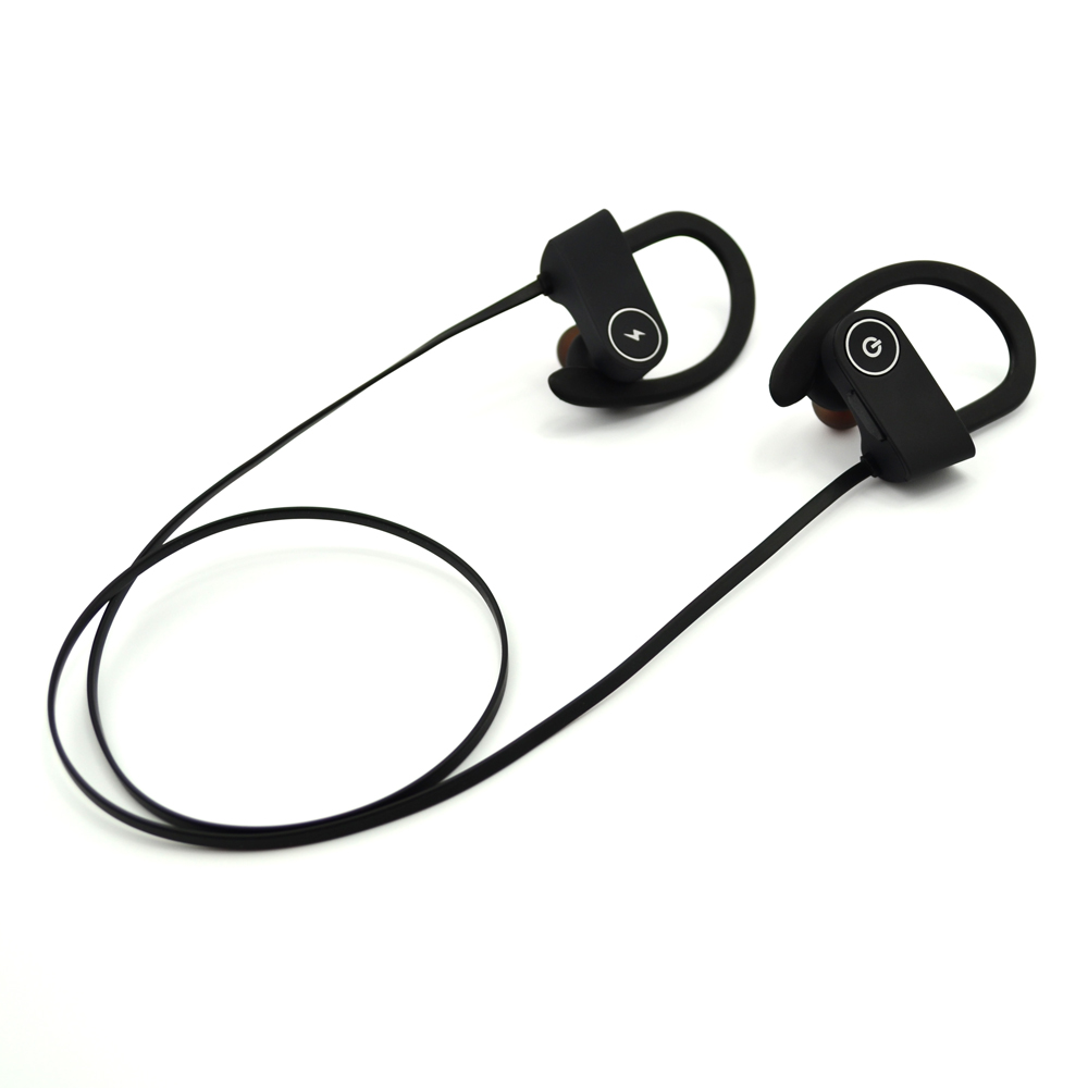 Unique Design Bluetooth Headset Soft Ear Hook Wireless Sport Bluetooth Headphone 2015