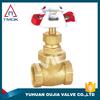 handwheel brass gland nut brass gasket brass stem knife gate valve and CE approved and high quality