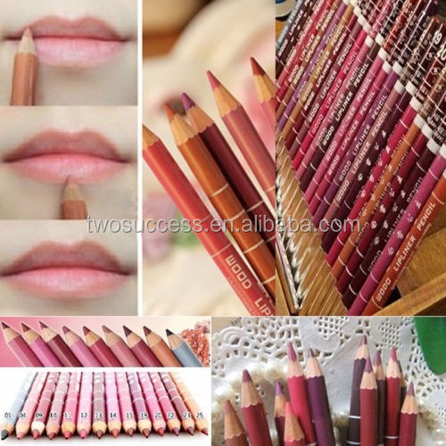 lip liner factory price beauty lipliner lasting waterproof lip liner pencil