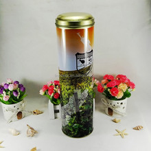 factory wholesale promotional gift red wine metal tin tube