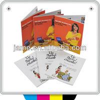 2013 high quality pamphlet design/advertising pamphlet