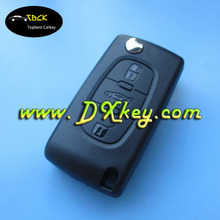 Excellent quality 434 MHz ID46 Chip auto smart key for peugeot key peugeot 307 remote key with trunk button CE0536
