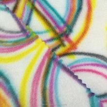 Mingwei dyed stripe Printed Garment Polar Fleece