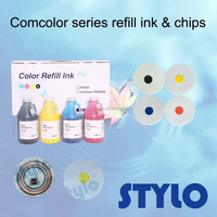 Comcolor 3050 7050 9050 Black refill ink and chip made by professional factory