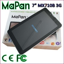 7''TFT touch screen,Dual core android tablet with gmail wifi and gps function