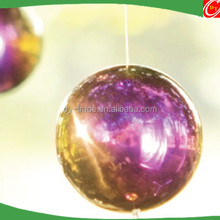 Silver Color Mirror Polished Hanging Ball Decoration