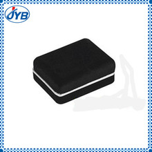 manufacturer cheap custom fashion leather cufflinks with gift boxes