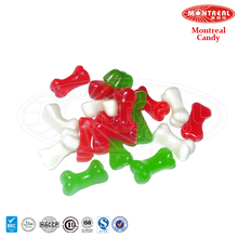 Colorful gummy jelly bone candy