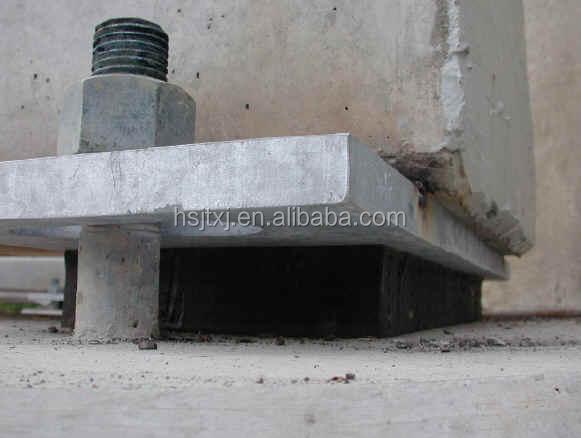 Ptfe laminated bearing pad buy teflon slide type rubber