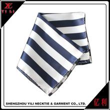 2016 Fashion Stripe design Soft Mens cheap handkerchiefs