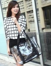 Women's Handbags Handbag Summer Female Transparent Beach Bags Women Famous Brands Yellow Bag High Quality Hot Sale Discount