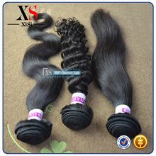 Hot selling natural malaysian straight hair headband with attached hair