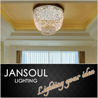 zhongshan lighting factory modern indian crystal chandelier ceiling light decoration house fittings