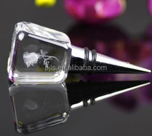 Crystal Glass Wine Stopper For Wedding Gifts
