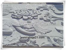 Cina marmo bianco statua, statua in marmo bianco