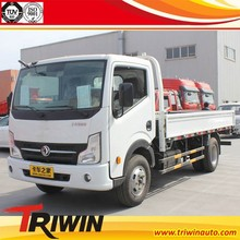 chinese famous dongfeng brand EURO4 diesel engine 103KW 140hp 2 ton china light trucks