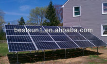 Bestsun MPPT controller Cheap and practical goods 4KW evacuated tubes solar system