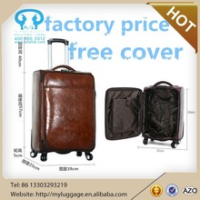Fashion polo luggage with free luggage cover