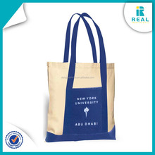 2015 Reusable Plain Shopping Customized Cotton Bag High Quality from Direct Factory