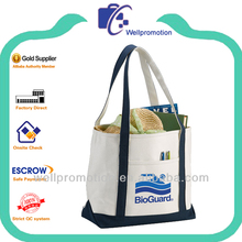 Wellpromoion 2014 cute custom cotton tote bag