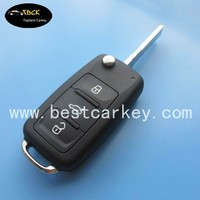 HOT SALE! new remote flip Key for vw golf 4 key VW golf remote key 3 button