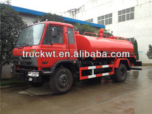 8000L to 10000L waste water suction truck for sewer or septic tank