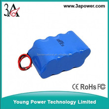 Large-capacity lithium battery pack 12V 15Ah LED lamps electronic cigarette lithium ion battery