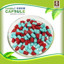 Provides high quality blue and white empty gelatin capsules