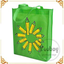 Eco-Friendly Customized printing non-woven sandwich bag, Non woven carrier bag