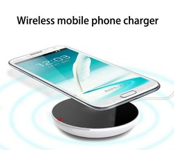 portable mobile phone charger promotional cell wireless qi charger