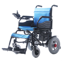 Portable electric wheelchair scooter for handicapped