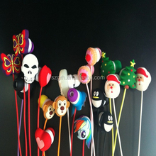 customized logo silicone earphone rubber cover