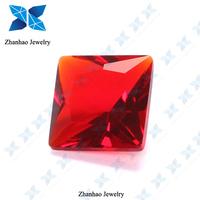 Top sale diamond cut big decorative glass gems for wholesale buyer