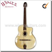 [WINZZ] Arched Top Rosewood Left Hand Gypsy Jazz Guitar (AGJ600)