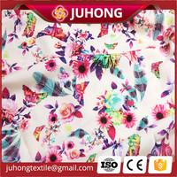 100% rayon digital printed fabric make for dress