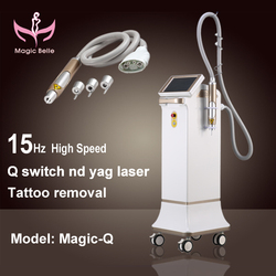 New arrival Professional Q switched nd yag laser/nd yag laser/yag laser tattoo removal machine