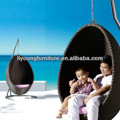 Ovos de suspensão de cana swing/balanços pátio da cadeira
