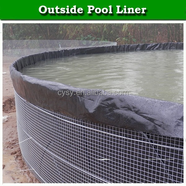 Waterproofing hdpe fish pond liner impermeable membrane for Plastic pond liner