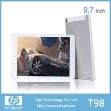 High Definition 9.7 inch IPS screen T98 quad core android 4.2 tablet pc