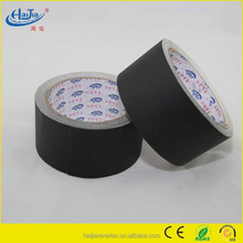 Black matte cloth gaffer tape