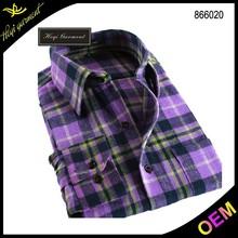 Fashion design check shirts wholesale custom shirt fabric