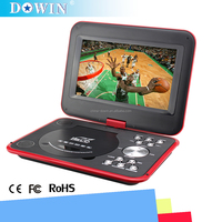 manufacture wholesale guality cheap video Black/pink/red/purple/orange/blue Portable DVD Player with MP4/Game/MP3/MP5/TV/FM