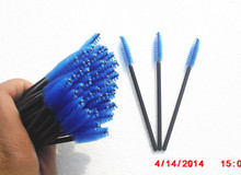 wholesale korean factory lowest price long handle mascara brush make up tool