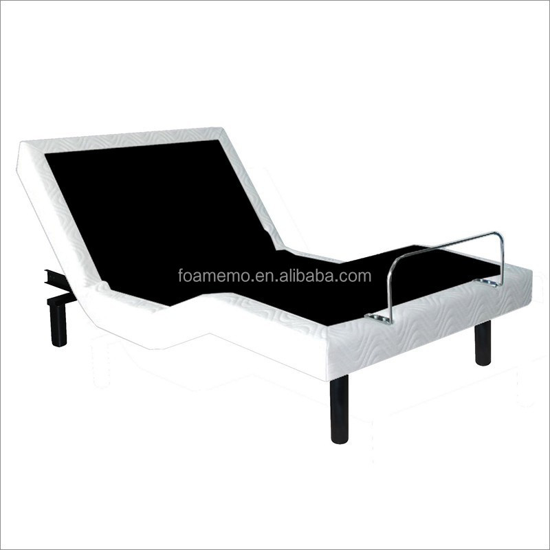 Electric Adjustable Bed Base Home Use Okin Motor Wireless