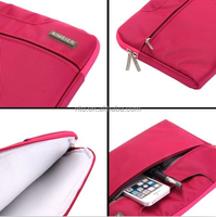 Neoprene Hard Carrying Case Sleeve for Macbook Pro 13 Inch, Rose