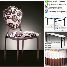 promotion table and stackable chair rental cheap